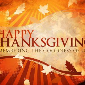 Thanksgiving's Begining