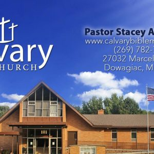 You are invited to Calvary Bible Church